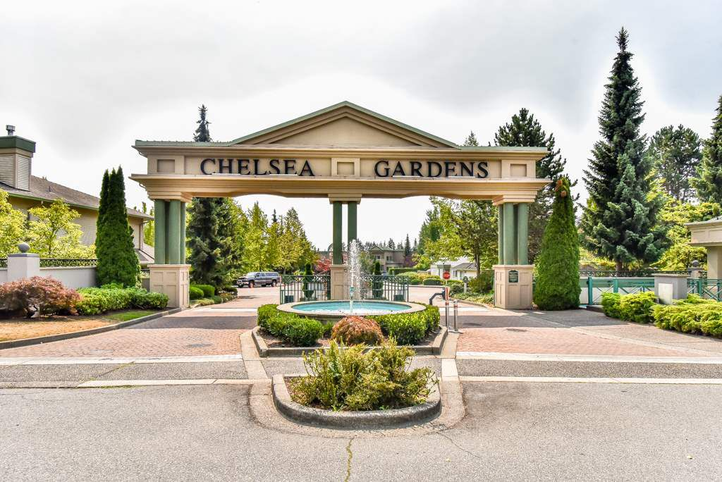 "Main Photo: 121 13888 70 Avenue in Surrey: East Newton Townhouse for sale in ""Chelsea Gardens"" : MLS®# R2299825"