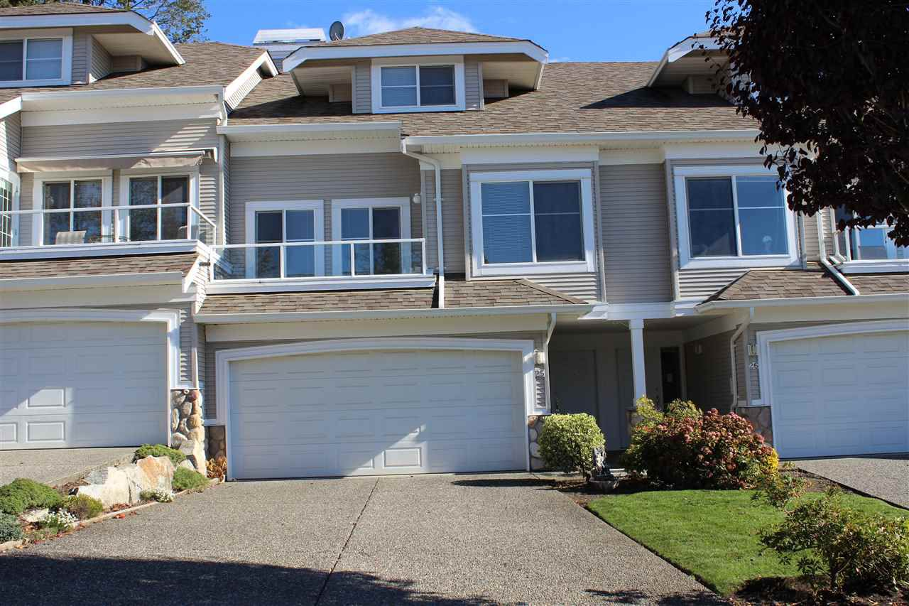 Main Photo: 25 31501 UPPER MACLURE Road in Abbotsford: Abbotsford West Townhouse for sale : MLS®# R2313659