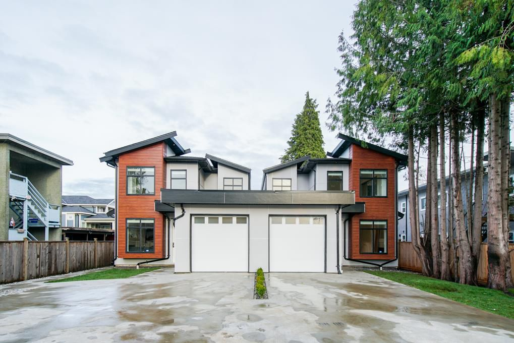 Main Photo: 7430 CANADA Way in Burnaby: East Burnaby House 1/2 Duplex for sale (Burnaby East)  : MLS®# R2345839