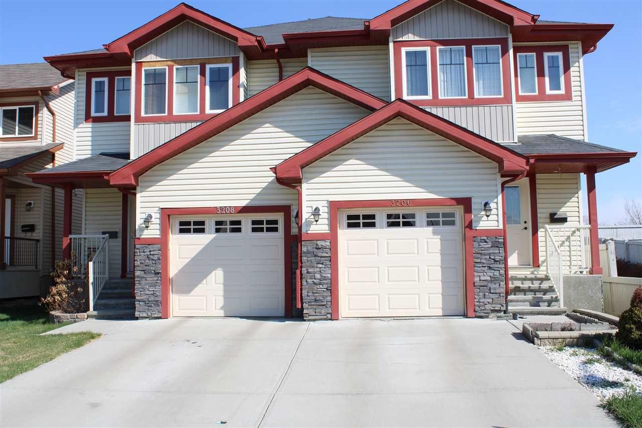 Main Photo: 3206 152 Avenue NE in Edmonton: Zone 35 House Half Duplex for sale : MLS®# E4152122