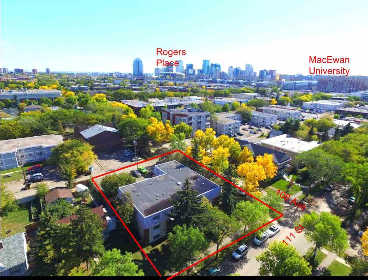 Main Photo: 11140 108 Avenue in Edmonton: Zone 08 Multi-Family Commercial for sale : MLS®# E4153437