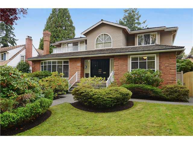 Main Photo: 2433 W 35TH Avenue in Vancouver: Quilchena House for sale (Vancouver West)  : MLS®# V1032086