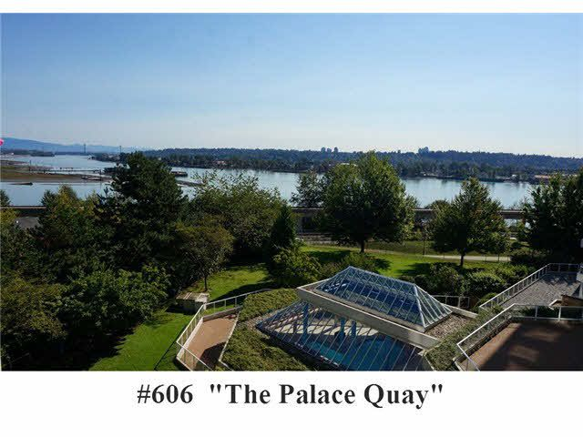 """Main Photo: 606 71 JAMIESON Court in New Westminster: Fraserview NW Condo for sale in """"THE PALACE QUAY"""" : MLS®# V1085293"""