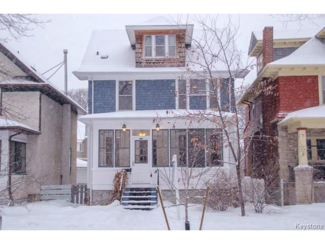 Main Photo: 102 Ruby Street in WINNIPEG: West End / Wolseley Residential for sale (West Winnipeg)  : MLS®# 1503021