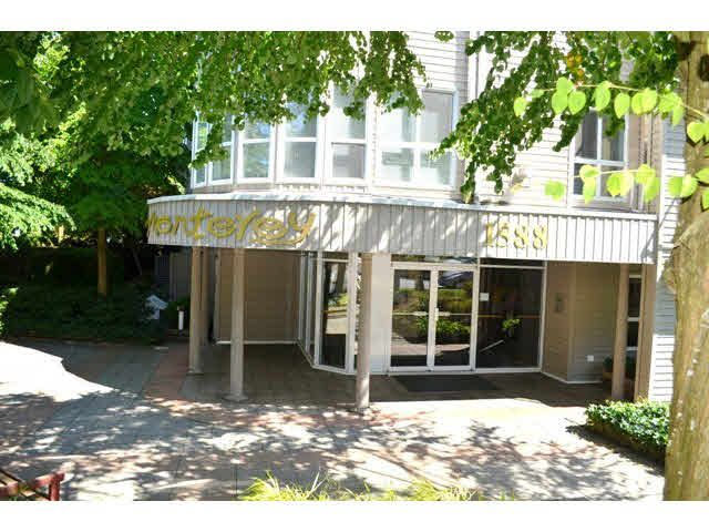 "Main Photo: 306 1588 BEST Street: White Rock Condo for sale in ""THE MONTEREY"" (South Surrey White Rock)  : MLS®# F1432926"