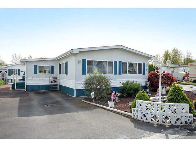 Main Photo: 97 3300 HORN Street in Abbotsford: Central Abbotsford Manufactured Home for sale : MLS®# F1436909