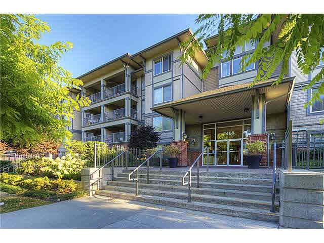 """Main Photo: 308 2468 ATKINS Avenue in Port Coquitlam: Central Pt Coquitlam Condo for sale in """"BORDEAUX"""" : MLS®# R2062215"""