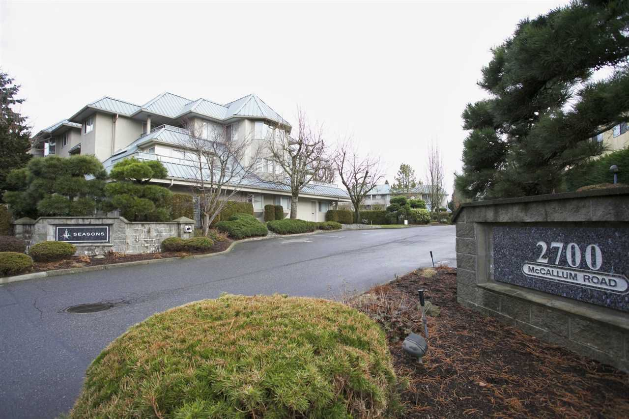 "Main Photo: 101 2700 MCCALLUM Road in Abbotsford: Central Abbotsford Condo for sale in ""The Seasons"" : MLS®# R2112667"