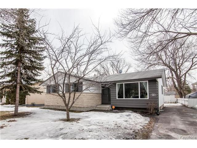 Main Photo: 26 Bellavista Crescent in Winnipeg: Crestview Residential for sale (5H)  : MLS®# 1706690