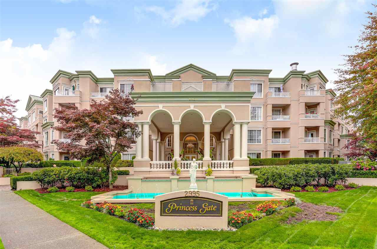 "Main Photo: 308 2995 PRINCESS Crescent in Coquitlam: Canyon Springs Condo for sale in ""PRINCESS GATE"" : MLS®# R2226838"