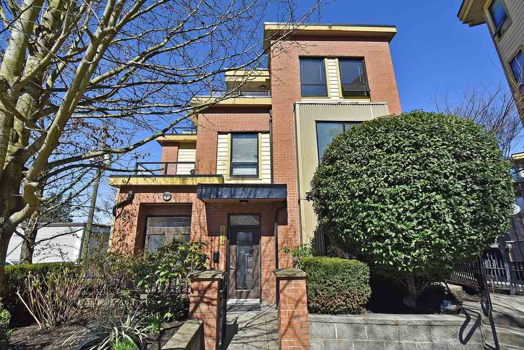 "Main Photo: 1851 STAINSBURY Avenue in Vancouver: Victoria VE Townhouse for sale in ""THE WORKS"" (Vancouver East)  : MLS®# R2354998"