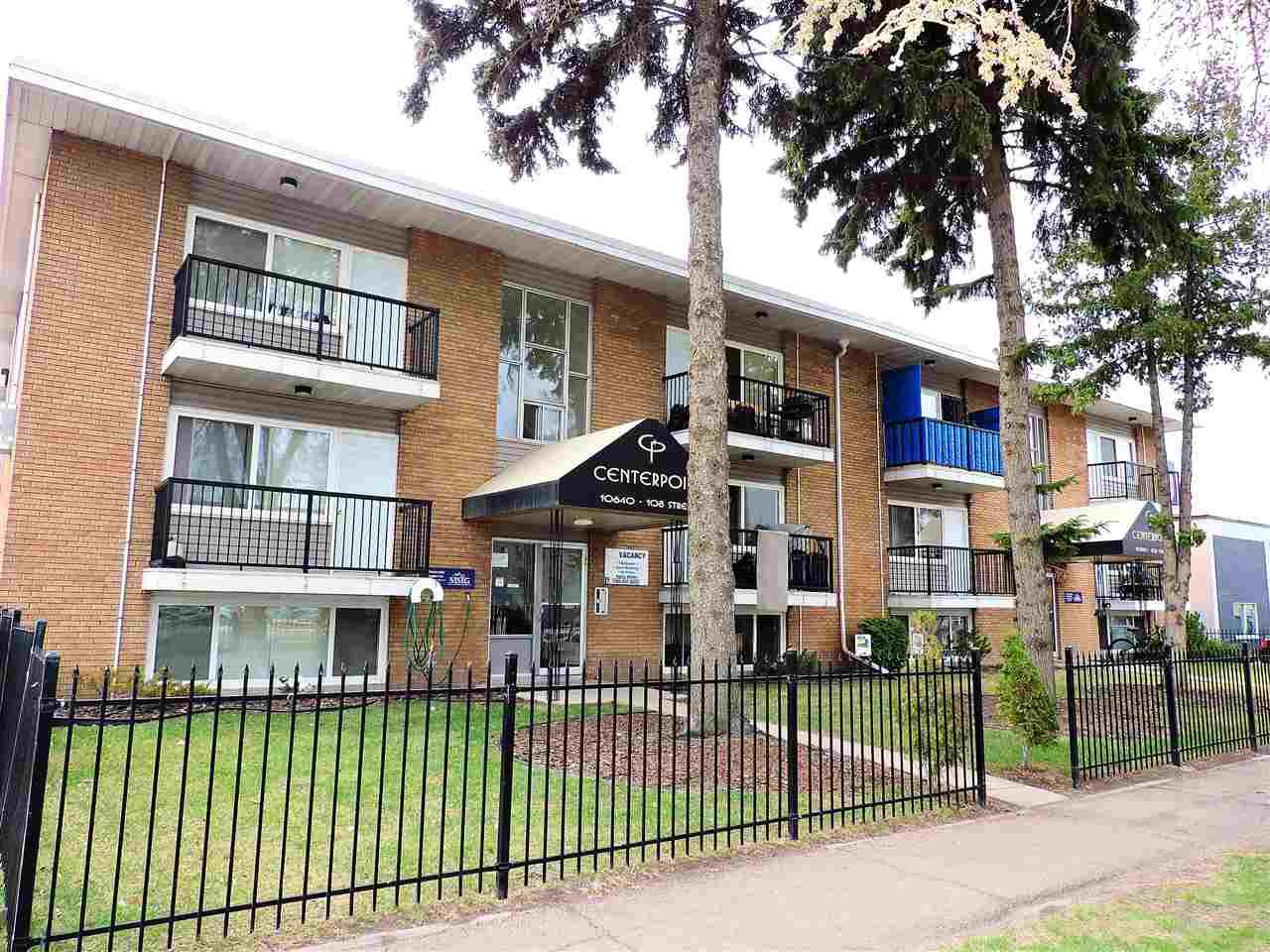 Main Photo: 24 10640 108 Street in Edmonton: Zone 08 Condo for sale : MLS®# E4158428