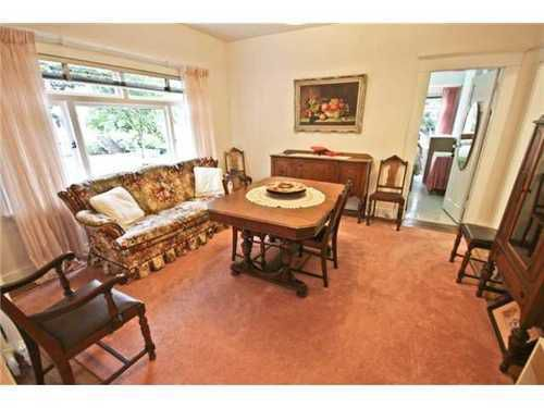 Photo 3: Photos: 2643 BALACLAVA Street in Vancouver West: Kitsilano Home for sale ()  : MLS®# V961104
