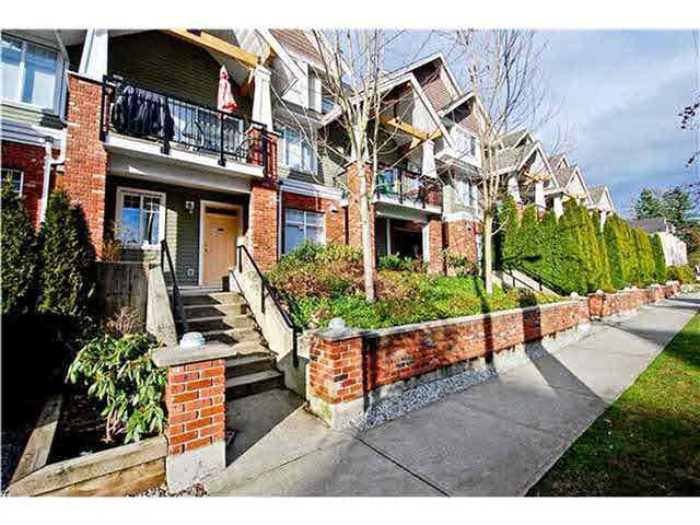 """Main Photo: 202 1567 GRANT Avenue in Port Coquitlam: Glenwood PQ Townhouse for sale in """"THE GRANT"""" : MLS®# V1140789"""