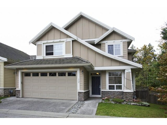 """Main Photo: 12 3502 150A Street in Surrey: Morgan Creek Townhouse for sale in """"Barber Creek Estates"""" (South Surrey White Rock)  : MLS®# R2009117"""
