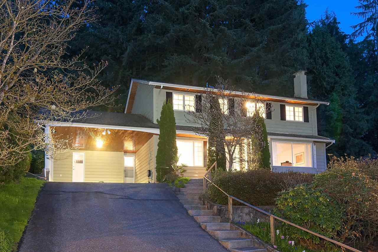 Main Photo: 4920 REDONDA DRIVE in North Vancouver: Canyon Heights NV House for sale : MLS®# R2203785