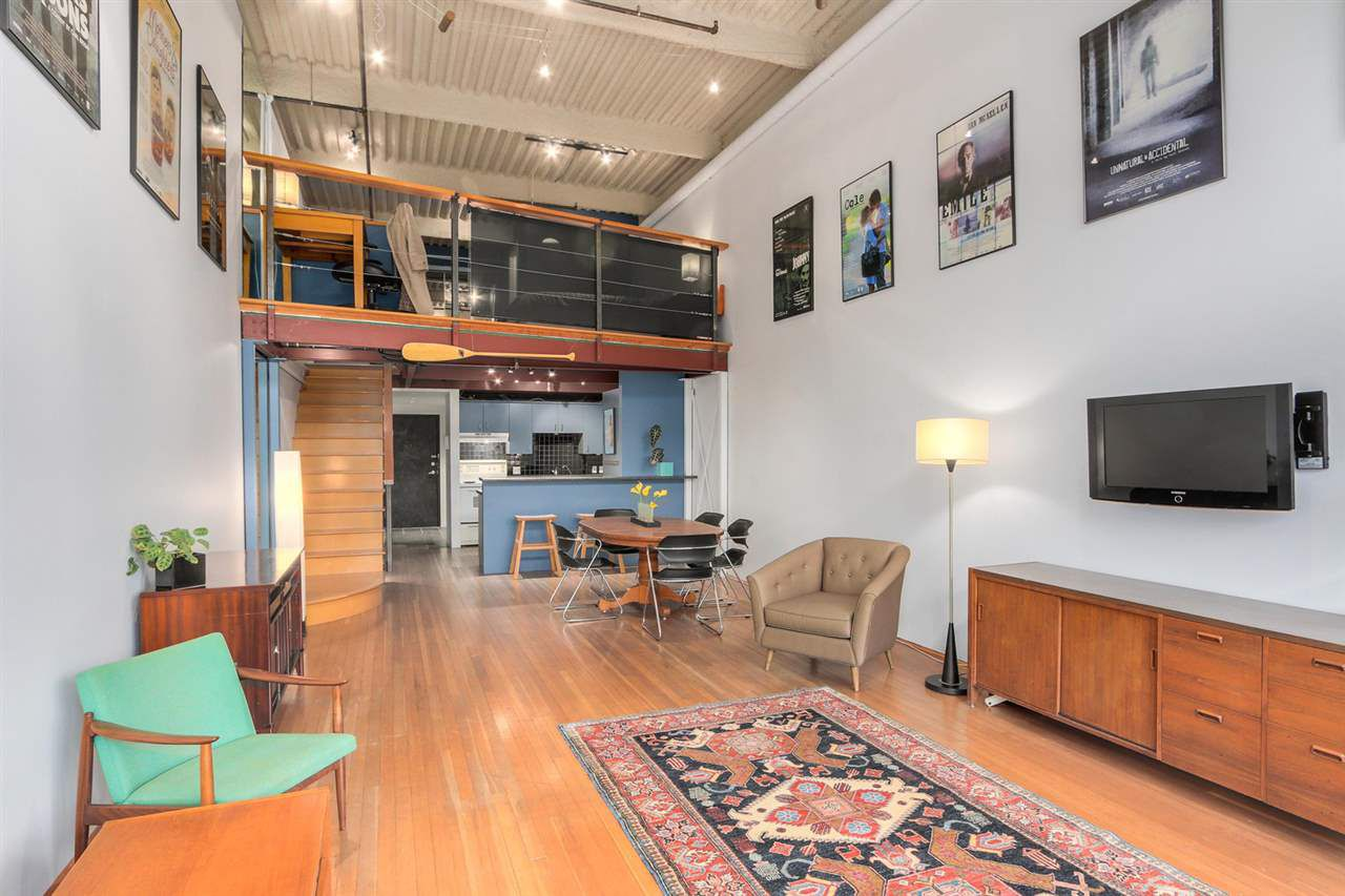 open concept Loft offers 16???4 ceiling height