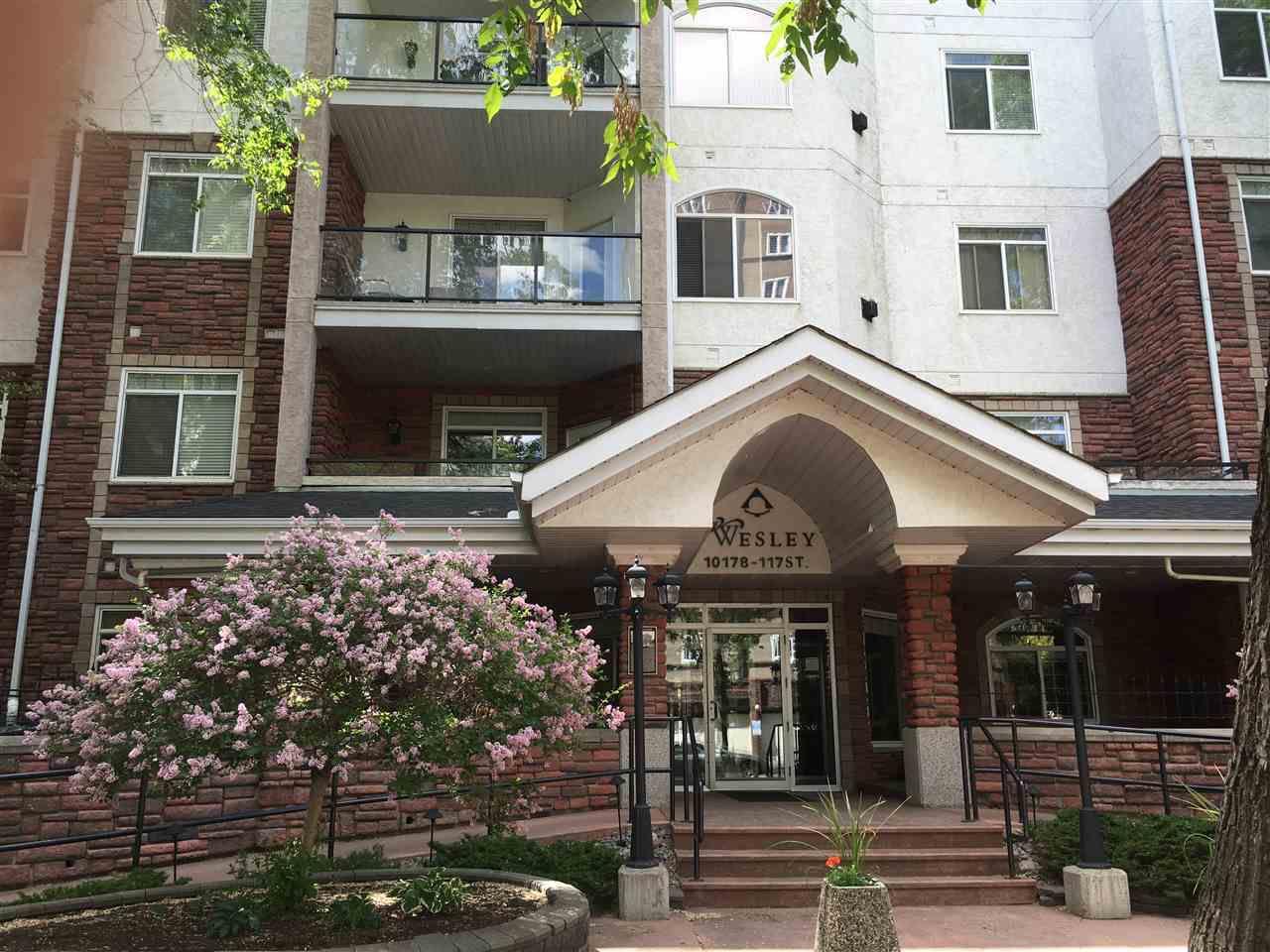 Main Photo: 404 10178 117 Street in Edmonton: Zone 12 Condo for sale : MLS®# E4115108