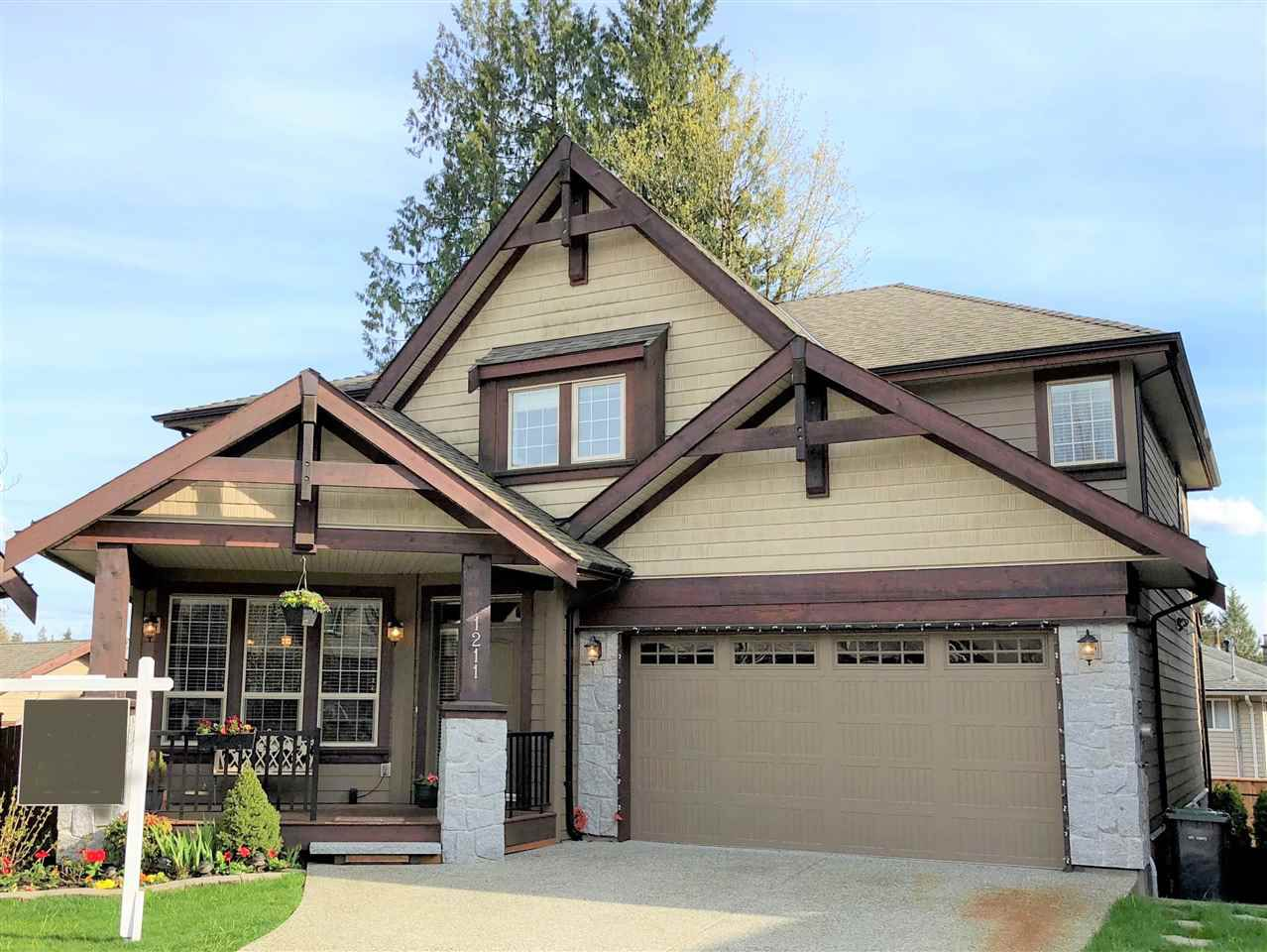 """Main Photo: 1211 BURKEMONT Place in Coquitlam: Burke Mountain House for sale in """"WHISPER CREEK"""" : MLS®# R2338437"""