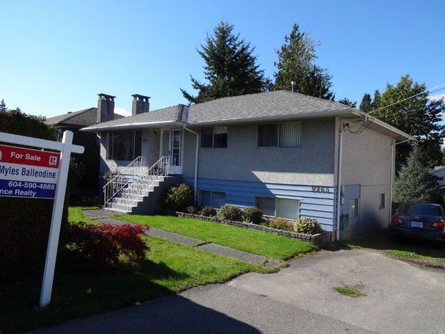 Main Photo: 9263 114TH Street in DELTA: Annieville House for sale (N. Delta)  : MLS®# F1322056