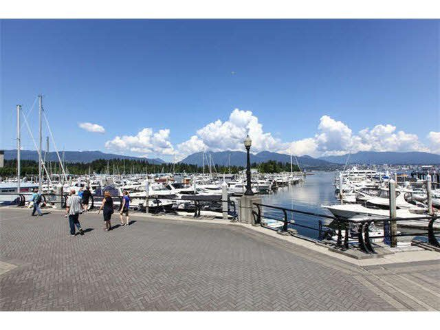 Live the coal harbour lifestyle! Steps tot he waterfront