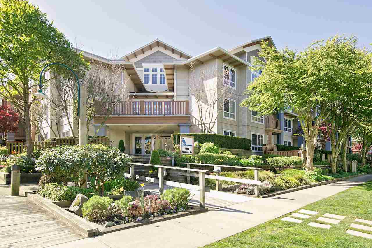 """Main Photo: 103 5600 ANDREWS Road in Richmond: Steveston South Condo for sale in """"LAGOONS"""" : MLS®# R2151403"""