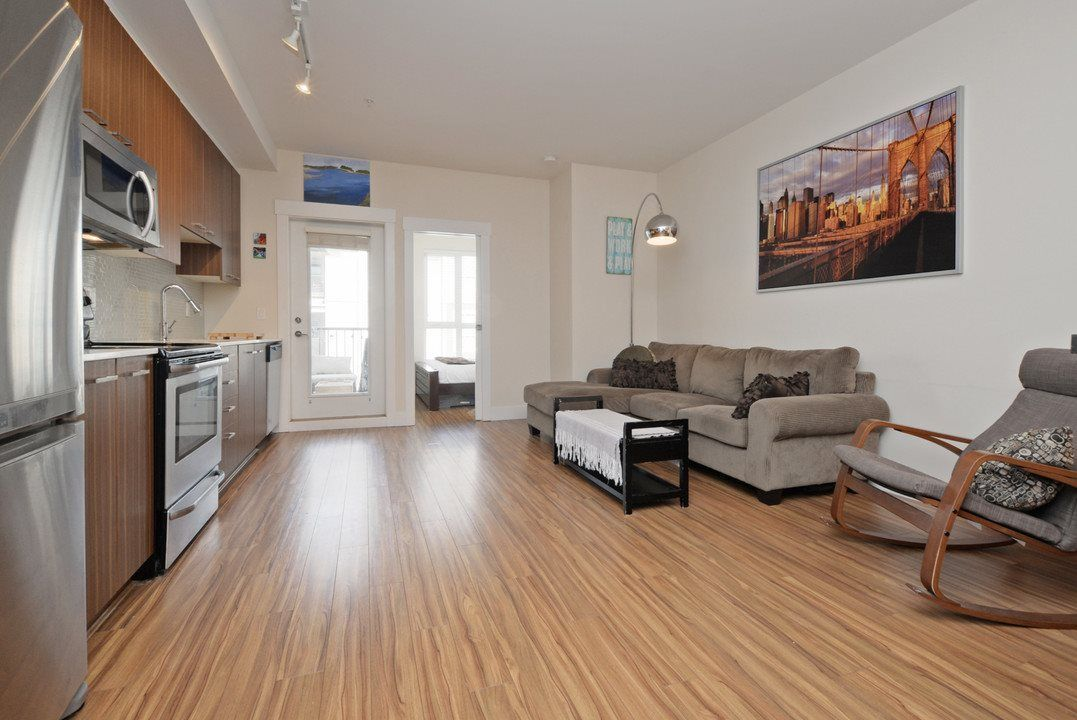 """Main Photo: 307 2473 ATKINS Avenue in Port Coquitlam: Central Pt Coquitlam Condo for sale in """"VALORE ON THE PARK"""" : MLS®# R2246469"""
