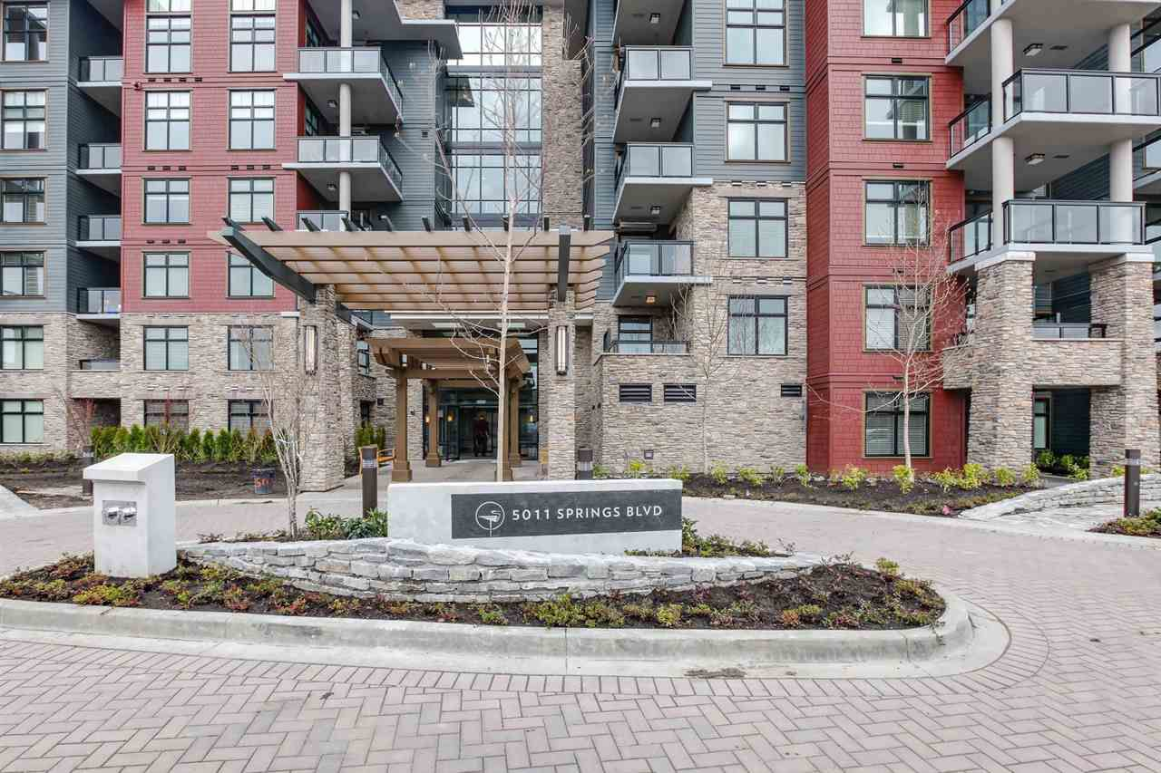 "Main Photo: 516 5011 SPRINGS Boulevard in Tsawwassen: Cliff Drive Condo for sale in ""Tsawwassen Springs"" : MLS®# R2252925"