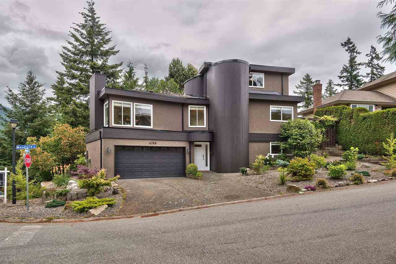 Main Photo: 4768 MEADFEILD Road in West Vancouver: Caulfeild House for sale : MLS®# R2274066