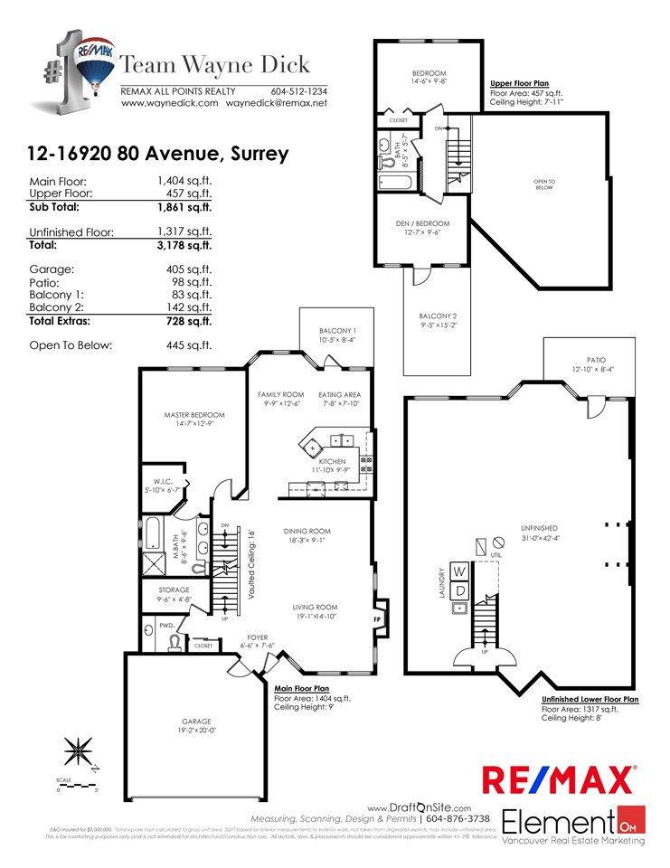 "Photo 20: Photos: 12 16920 80 Avenue in Surrey: Fleetwood Tynehead Townhouse for sale in ""STONE RIDGE"" : MLS®# R2286010"