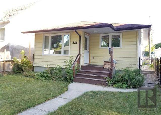 Main Photo: 321 Rosseau Avenue in Winnipeg: West Transcona Residential for sale (3L)  : MLS®# 1824304