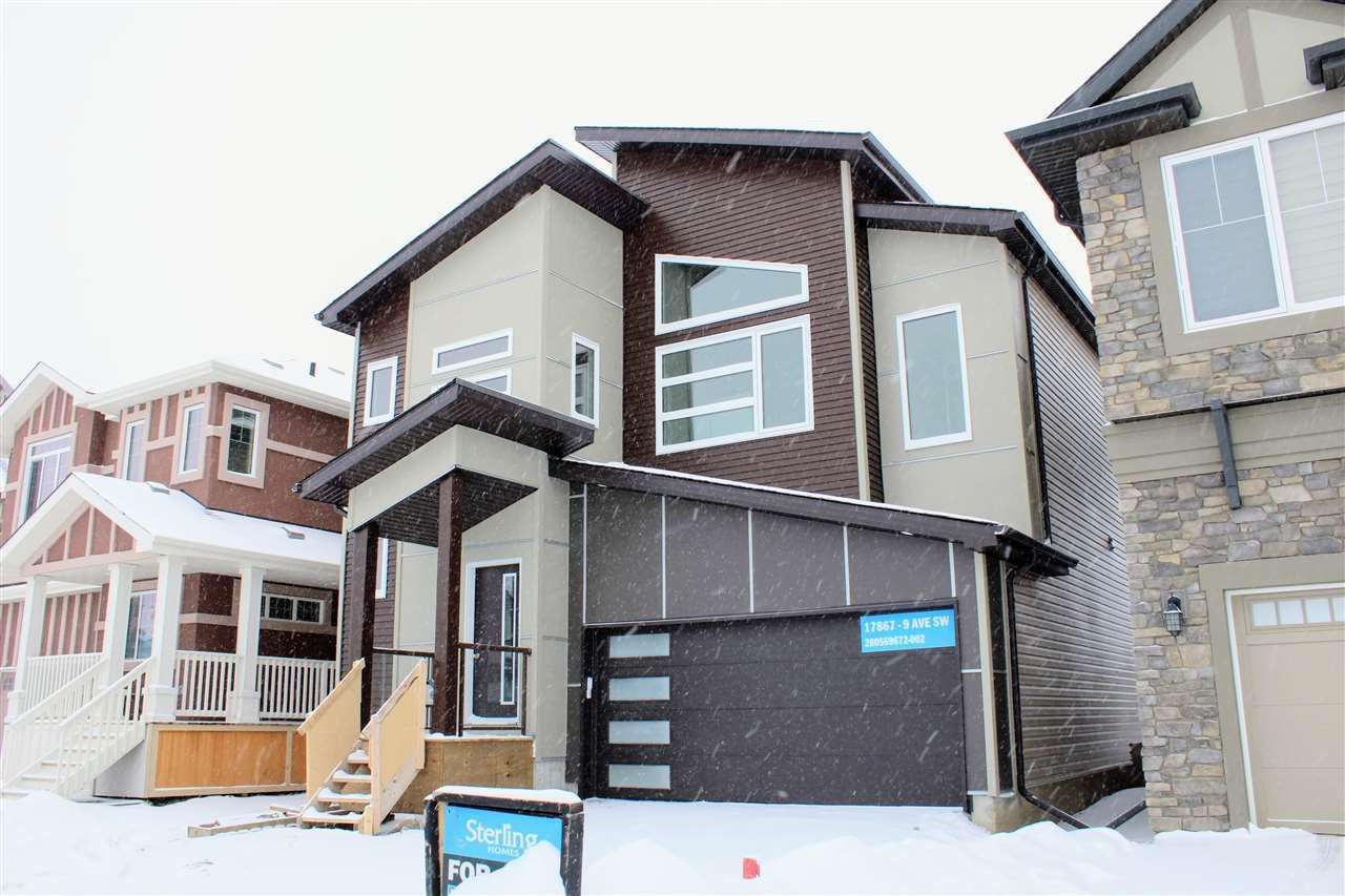 Main Photo: 17867 9 Avenue in Edmonton: Zone 56 House for sale : MLS®# E4135723