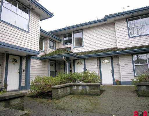 "Main Photo: 15 5664 208TH ST in Langley: Langley City Townhouse for sale in ""THE MEADOWS"" : MLS®# F2601507"