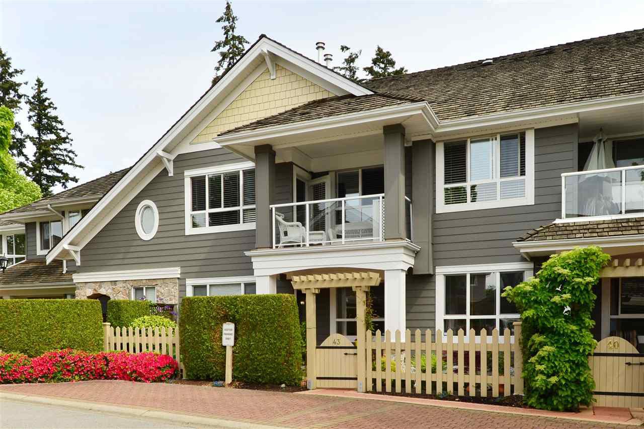 "Main Photo: 43 15055 20 Avenue in Surrey: Sunnyside Park Surrey Condo for sale in ""Highgrove"" (South Surrey White Rock)  : MLS®# R2065183"