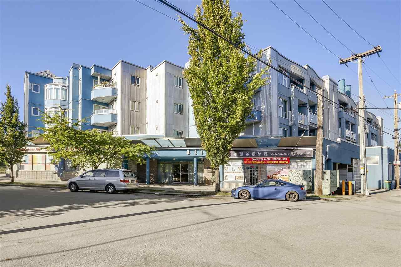 Main Photo: 102 4893 CLARENDON STREET in Vancouver: Collingwood VE Condo for sale (Vancouver East)  : MLS®# R2211401