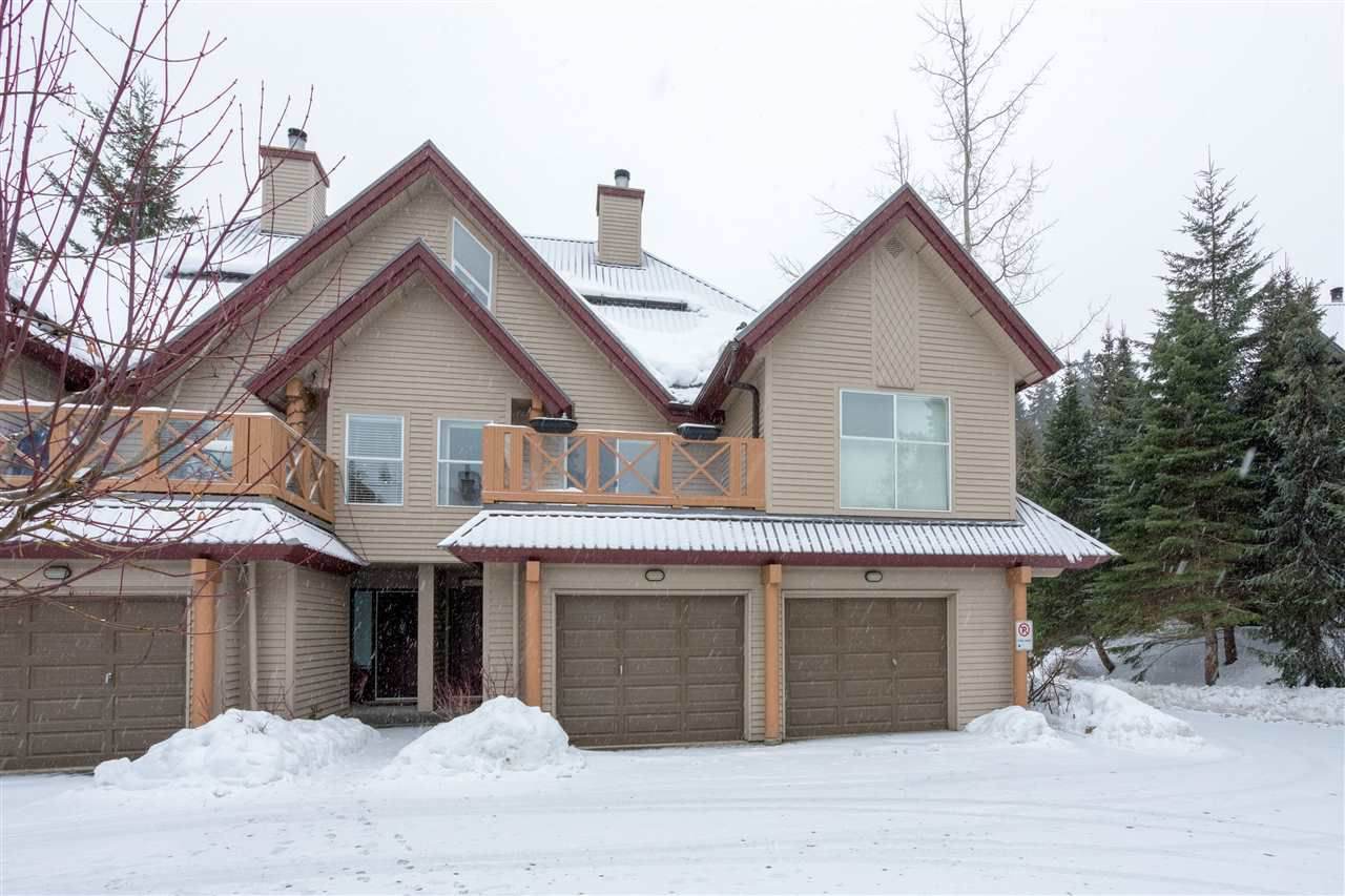 Main Photo: 106 2222 CASTLE DRIVE in Whistler: Nordic Townhouse for sale : MLS®# R2231989