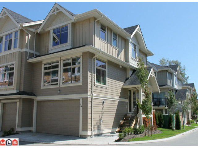 Main Photo: 46 19525 73RD Avenue in Surrey: Clayton Condo for sale (Cloverdale)  : MLS®# F1218171