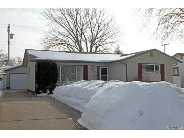 Main Photo: 19 Cook Road in WINNIPEG: Westwood / Crestview Residential for sale (West Winnipeg)  : MLS®# 1404356