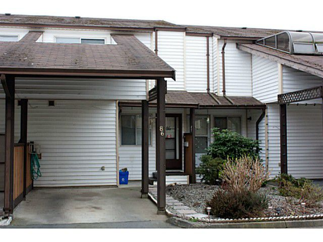 """Main Photo: 86 27272 32ND Avenue in Langley: Aldergrove Langley Townhouse for sale in """"TWIN FIRS"""" : MLS®# F1409011"""