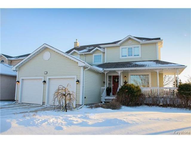 Main Photo: 3 Aintree Crescent in WINNIPEG: Fort Garry / Whyte Ridge / St Norbert Residential for sale (South Winnipeg)  : MLS®# 1500782