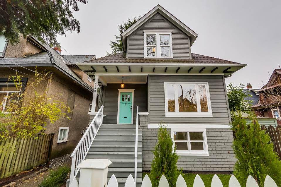 Main Photo: 4583 WINDSOR Street in Vancouver: Fraser VE House for sale (Vancouver East)  : MLS®# R2015499