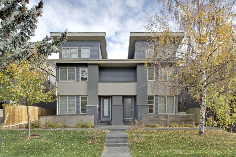 Main Photo: 2 36 Street SW in Calgary: Duplex for sale : MLS®# C3641142