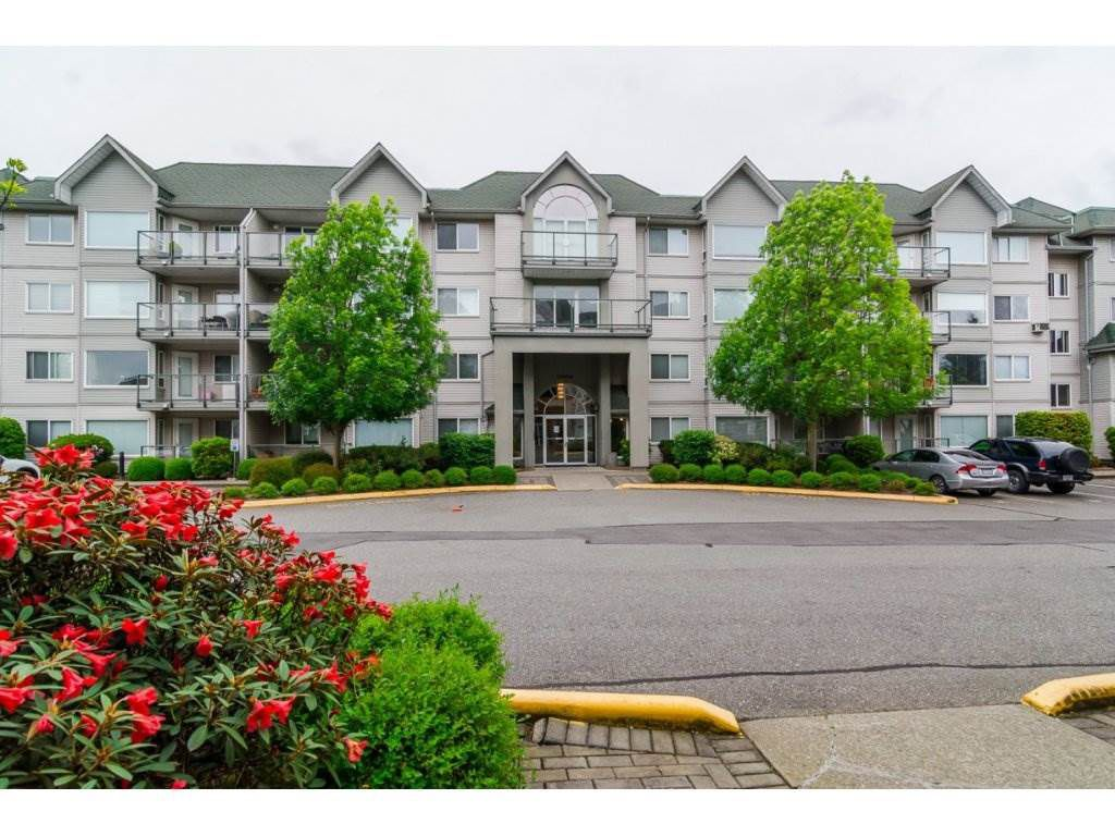 "Main Photo: 106 33688 KING Road in Abbotsford: Poplar Condo for sale in ""College Park"" : MLS®# R2110318"