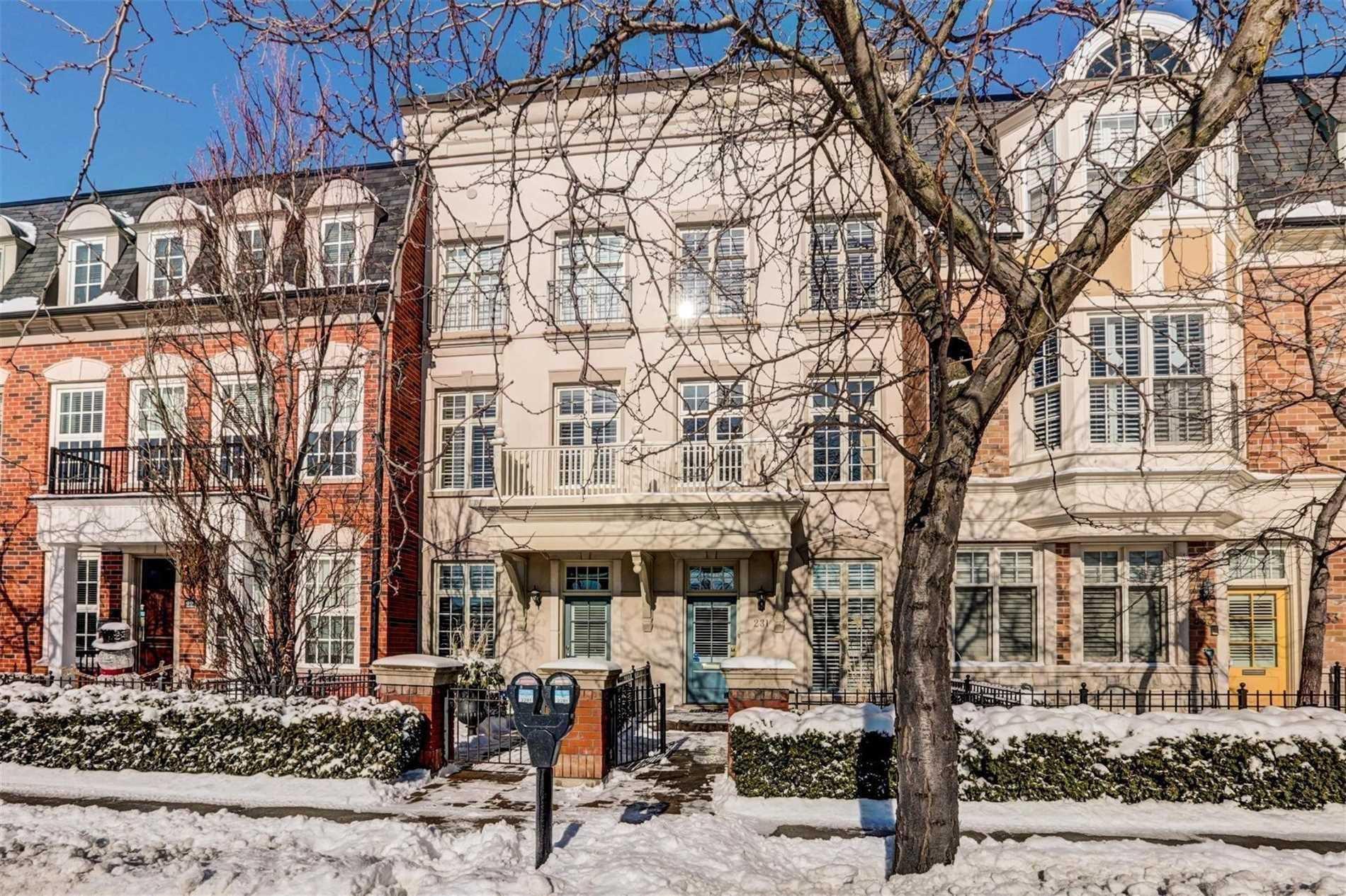 Main Photo: 231 Church Street in Oakville: Old Oakville House (3-Storey) for lease : MLS®# W4424340