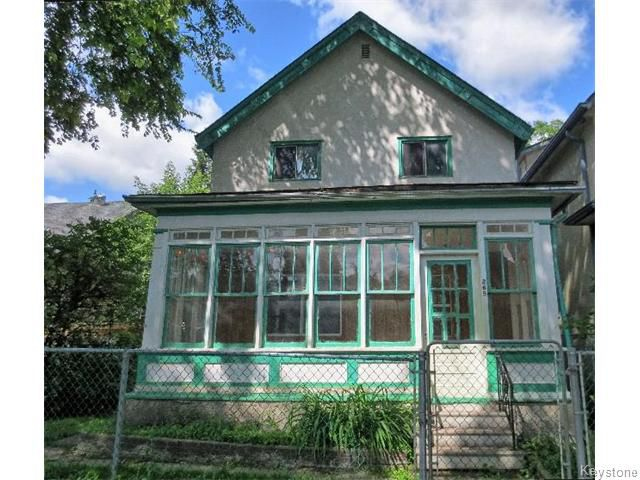 Main Photo: 265 Manitoba Avenue in WINNIPEG: North End Residential for sale (North West Winnipeg)  : MLS®# 1518790