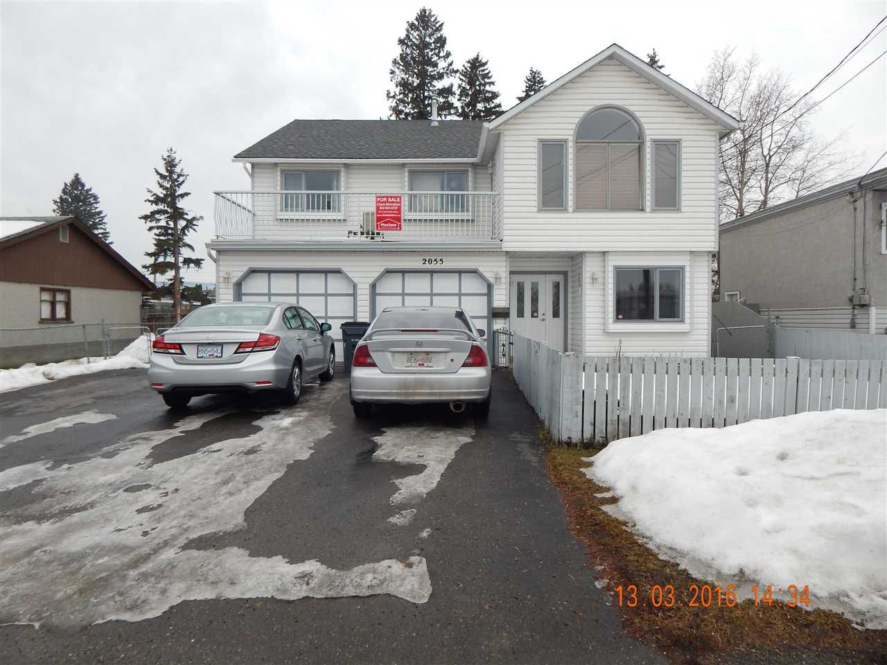 """Main Photo: 2055 SPRUCE Street in Prince George: VLA House for sale in """"VLA"""" (PG City Central (Zone 72))  : MLS®# R2034291"""