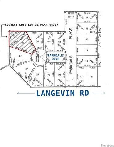 Main Photo: 0 Parkdale Cove in Ste Anne: R06 Residential for sale : MLS®# 1716307