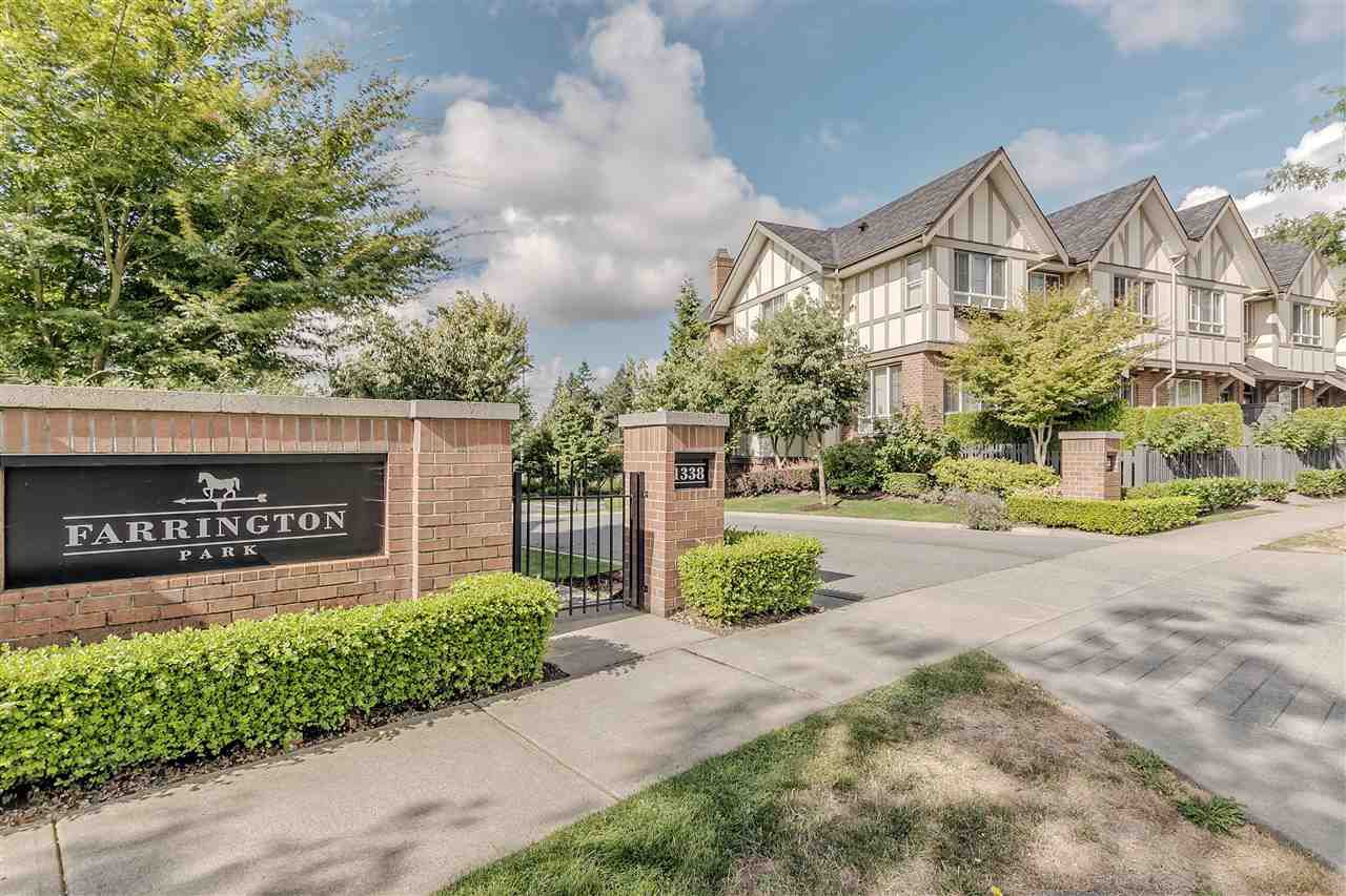 """Main Photo: 19 1338 HAMES Crescent in Coquitlam: Burke Mountain Townhouse for sale in """"Farrington Park"""" : MLS®# R2202437"""
