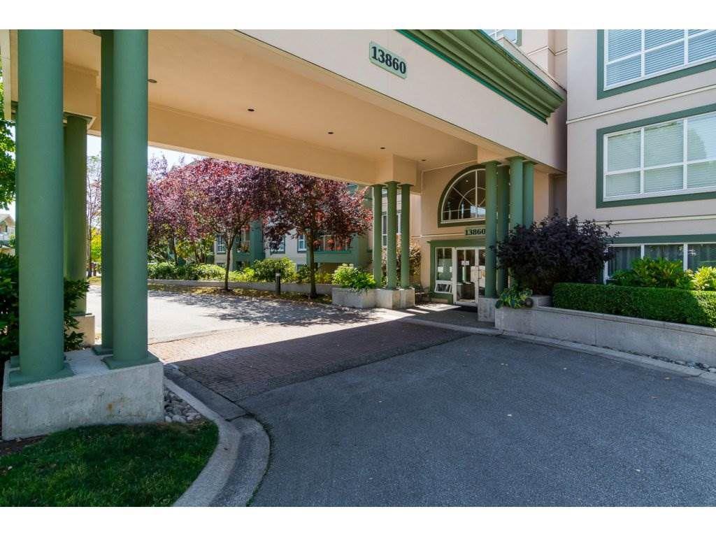 "Main Photo: 106 13860 70 Avenue in Surrey: East Newton Condo for sale in ""Chelsea Gardens"" : MLS®# R2243346"