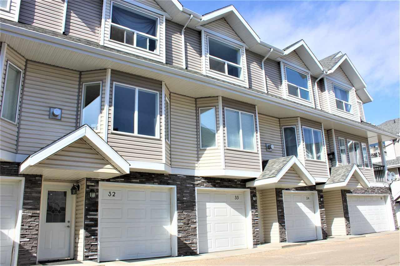Main Photo: 33 13215 153 Avenue in Edmonton: Zone 27 Townhouse for sale : MLS®# E4150311
